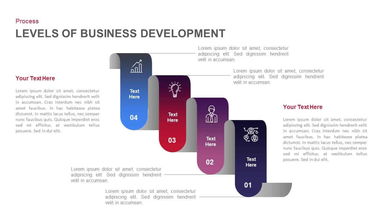Stages Of Business Development Template For Powerpoint And With Business Development Presentation Template