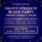 Starry Christmas Block Party Flyer Template Pertaining To Block Party Flyer Template