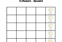 Sticker Charts – 6 Free Templates In Pdf, Word, Excel Download intended for Blank Reward Chart Template