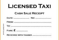 Taxi Receipt Template – Printable Receipt Template inside Blank Taxi Receipt Template