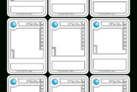 Tcg Card Template – Best Coloring Book || 最高の塗り絵Hd品質 with regard to Card Game Template Maker