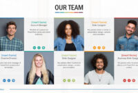 Team Biography Slides For Powerpoint Presentation Templates intended for Biography Powerpoint Template