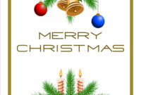 Template Christmas Card within Adobe Illustrator Christmas Card Template