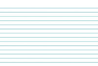 Template For Note Cards – Colona.rsd7 within 4X6 Note Card Template