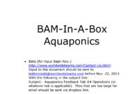The Aquaponics Business Plan Pdf throughout Aquaponics Business Plan Templates