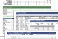The Best Excel Budget Template And Spreadsheets in Annual Business Budget Template Excel