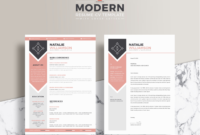 The Best Free Creative Resume Templates Of 2019 – Skillcrush with Adobe Illustrator Brochure Templates Free Download