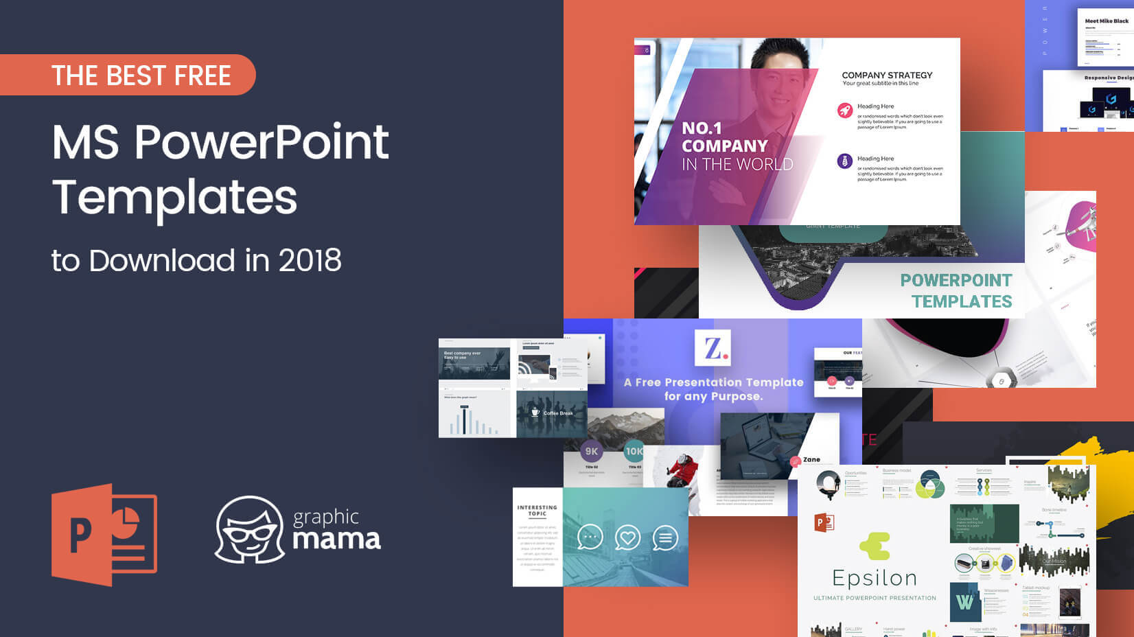 The Best Free Powerpoint Templates To Download In 2018 Intended For Business Logo Templates Free Download