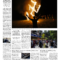 The Guardian Newspaper Template Front Page Inside Blank Newspaper Template For Word