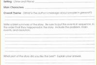 Third Grade Book Report Form 3Rd Fiction 5Th E 132378 Es throughout Book Report Template 3Rd Grade