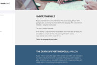 This [Free] Sales Proposal Template Won $38M Of Business for Business Sale Proposal Template