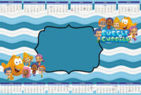 Tips: Pretty Bubble Guppies Invitations Design For Your intended for Bubble Guppies Birthday Banner Template