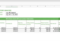 Top 10 Inventory Excel Tracking Templates – Sheetgo Blog within Business Process Inventory Template