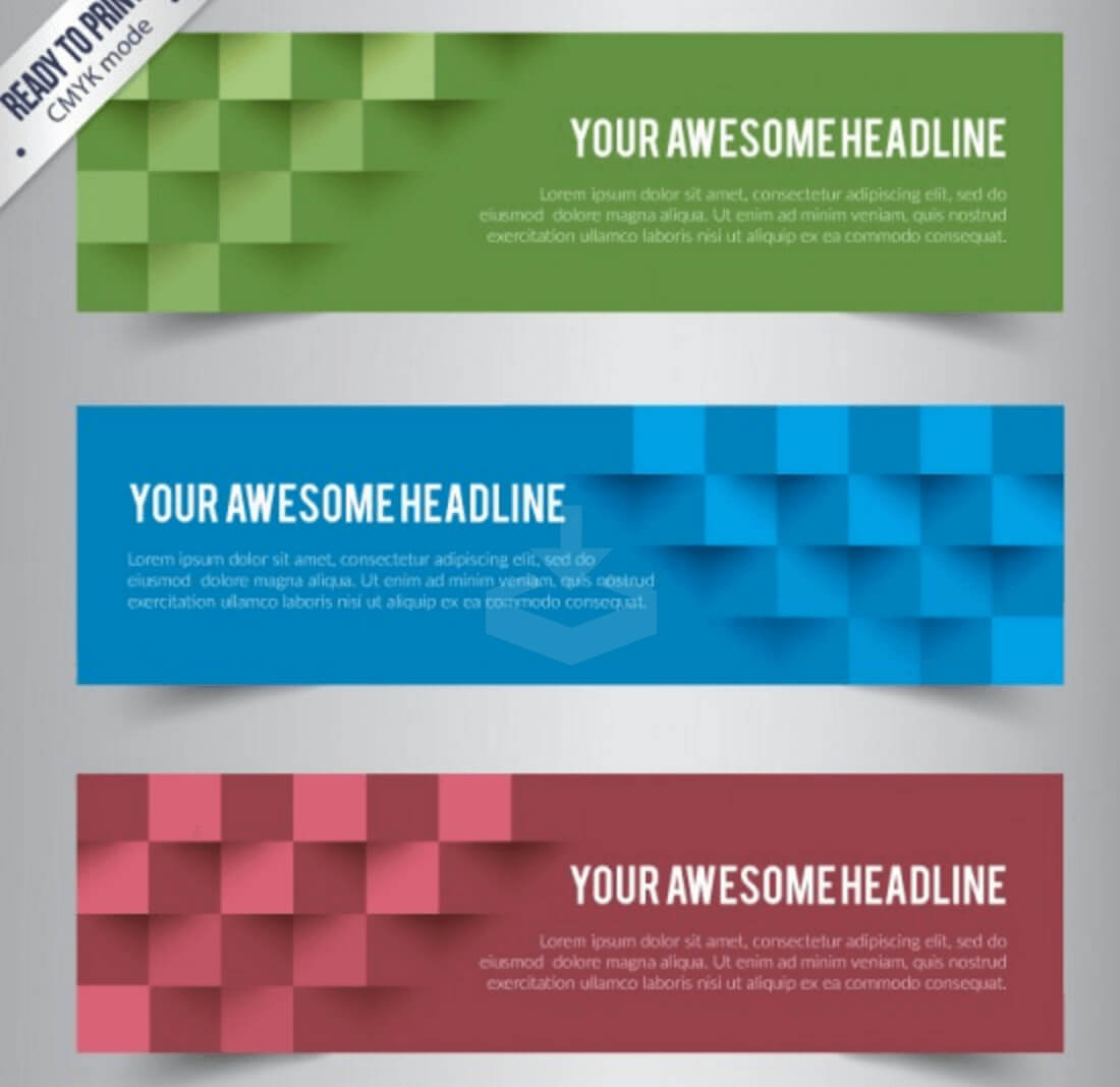 Top 20+ Free Banner Templates In Psd And Ai In 2019 – Colorlib With Banner Template For Photoshop