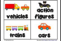 Toy Room Organization & Free Toy Bin Labels in Bin Labels Template