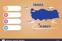 Travel Turkey Template Vector For Travel Agencies Etc regarding Blank Turkey Template