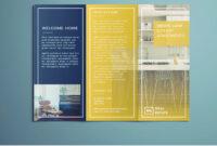 Tri Fold Brochure   Free Indesign Template regarding Adobe Tri Fold Brochure Template
