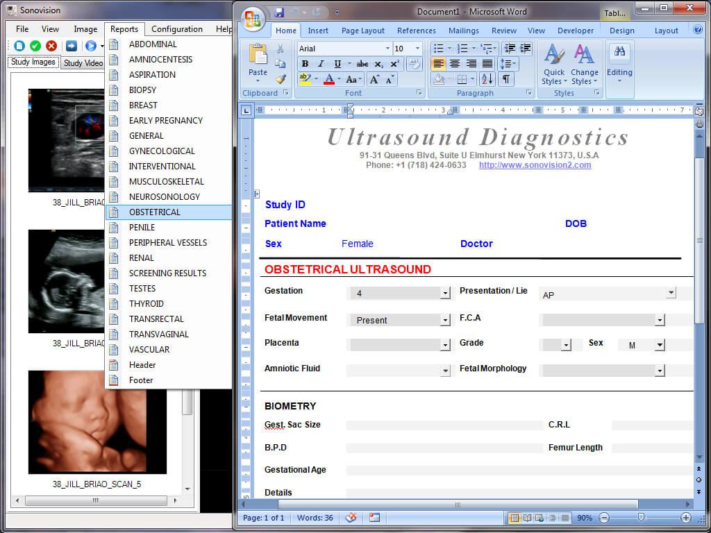 Ultrasound Report Template ] - Ultrasound Technologist Throughout Carotid Ultrasound Report Template