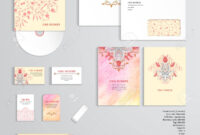 Vector Identity Templates. Letterhead, Envelope, Business Card,.. with regard to Business Card Letterhead Envelope Template