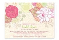 Vintage Wedding Shower Invitations : Vintage Bridal Shower with Blank Bridal Shower Invitations Templates
