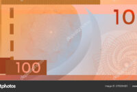 Voucher Template Banknote 100 With Guilloche Pattern throughout Bank Note Template
