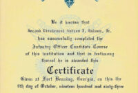 War Stories Of An Armed Savage – Part 13: Awards inside Army Good Conduct Medal Certificate Template