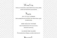 Wedding Invitation Graduation Ceremony Template Party Bridal throughout Bridal Shower Menu Template