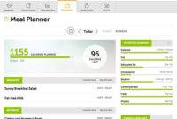 Weekly Menu Template Modern Free Download Google Docs Dinner within Blank Food Web Template
