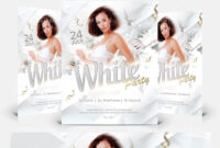 White Party – Free Flyer Psd Template intended for All White Party Flyer Template Free