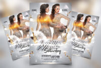 White Saturday Free Party Psd Flyer Template – Psdflyer.co pertaining to All White Party Flyer Template Free