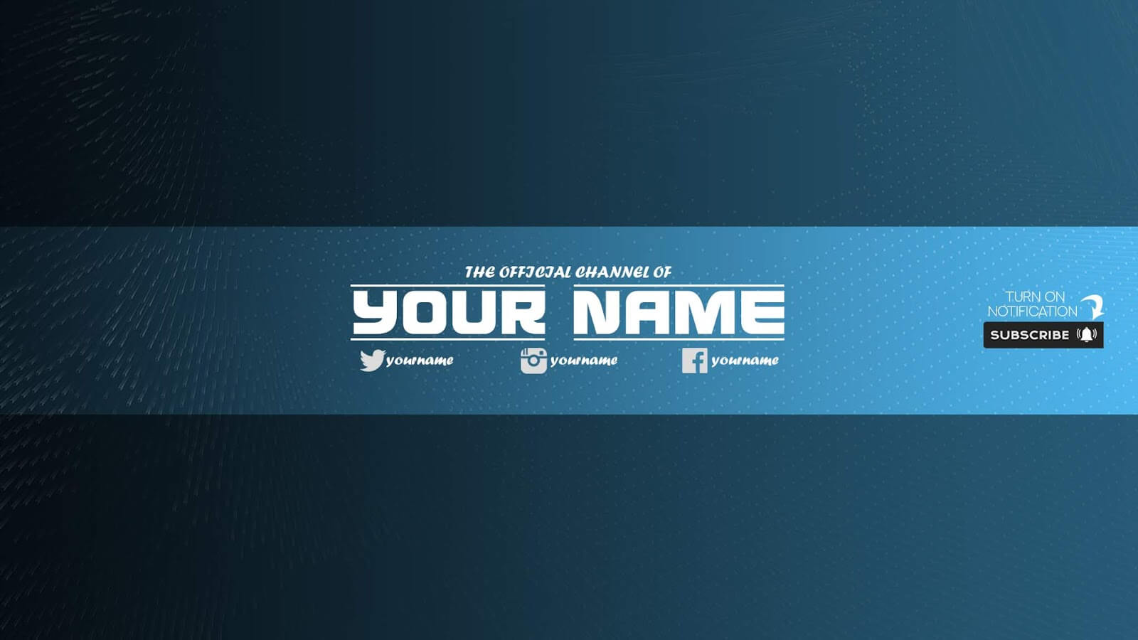 Zuhair Baloch: Free Youtube Banner Template #33 Download Now Inside Banner Template For Photoshop